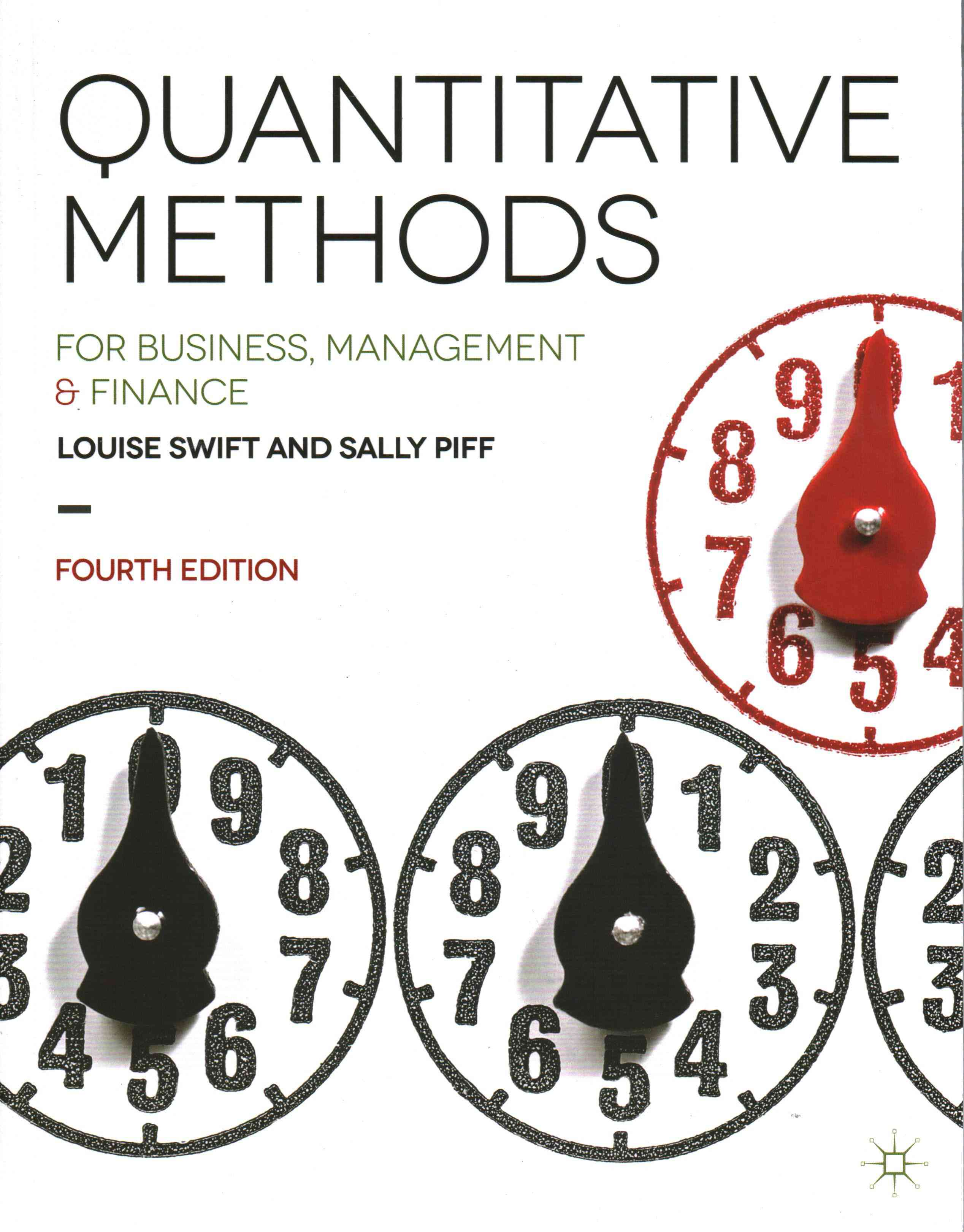 Quantitative Methods By Swift, Louise/ Piff, Sally